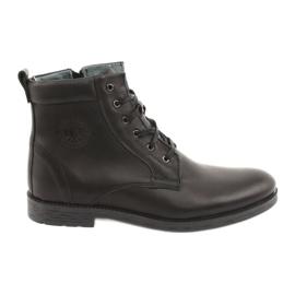 Visoke čizme s patentnim zatvaračem Riko 884 crne crna