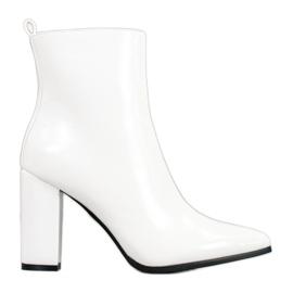 Seastar Kožne čizme bijela