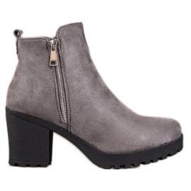 Seastar Modne sive čizme siva