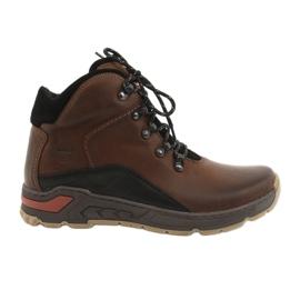 Trekking muške cipele Riko 903 smeđe / crne