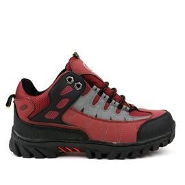 Crvene ženske treking cipele W317