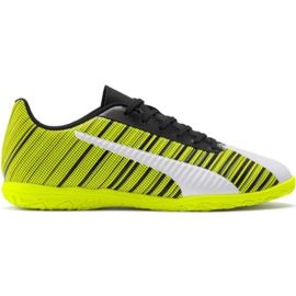 Puma One 5.4 It M 105654 04 nogometne čizme žuti bijela, crna, žuta