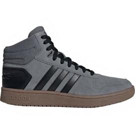Cipele Adidas Hoops 2.0 Mid M EE7367 siva