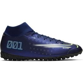 Nike Mercurial Superfly 7 Academy Mds Tf M BQ5435 401 obuća za nogomet mornarica