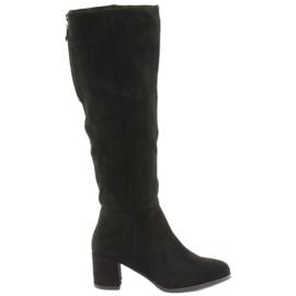 Crne Sergio leone čizme crna
