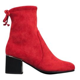 Goodin Moderan crvene čizme crvena