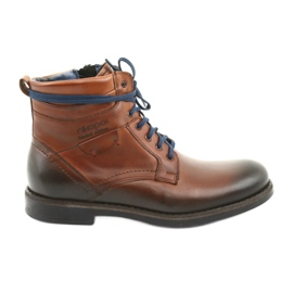 Nikopol 700 smeđe cipele s patentnim zatvaračem