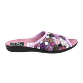 3D papuče na papučama Adanex ljubičaste su boje