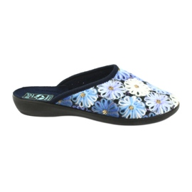 Papuče na papučicama 3D Adanex 24192 mornarsko plava