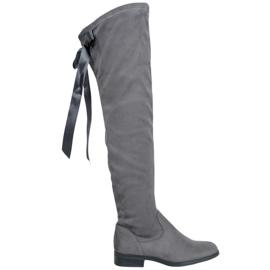 Seastar Moderne cipele s bedrima siva