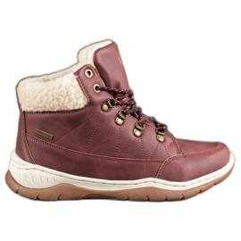Arrigo Bello Tople zimske cipele crvena