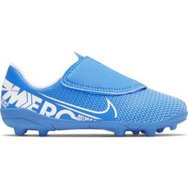 Nike Mercurial Vapor 13 Club Mg PS (V) Jr AT8162 414 cipele za nogomet plava plava
