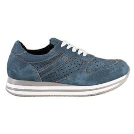 Kylie Sportske cipele s eko kožom plava