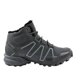 Trekking cipele od sive izolacije BN8810 siva