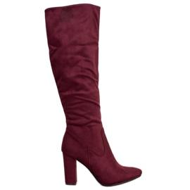 Elegantne VINCEZA čizme crvena