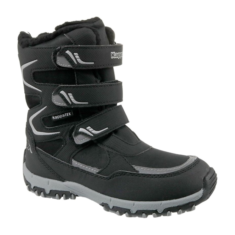 Kappa Great Tex Jr 260558K-1115 zimske čizme crna