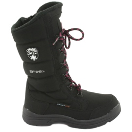 Čizme za snijeg s membranom American Club SN12 crne boje