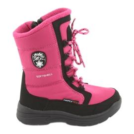 American Club Čizme za snijeg s membranama američkog kluba SN13 roza / crna