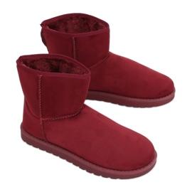 Čizme za snijeg emusy claret C-08 Ed crvena