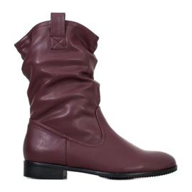 Sergio Leone Burgundske kaubojske čizme crvena