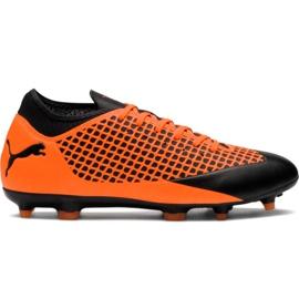 M Puma Future 2.4 Fg Ag 104839 02 nogometne čizme narančasta crna, narančasta