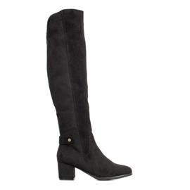 Goodin Tople čizme preko koljena crna