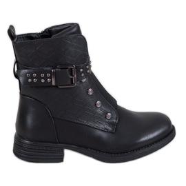 J. Star Crne čizme s elastičnom trakom crna
