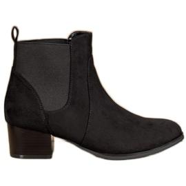 Kylie Klasične Jodhpur čizme crna