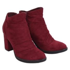 FA177 Vino bordo visoke potpetice crvena