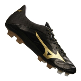 Mizuno Rebula 2 V1 nogometne čizme proizvedene u Japanu Fg P1GA187-950 crna crno, zlato