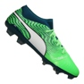 Puma One 18.2 Fg M 104533-04 nogometne čizme zelena zelena