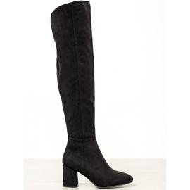 Seastar Elegantne visoke čizme crna