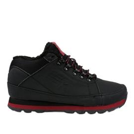 Crne čizme za snijeg izolirane 9WH917 crna
