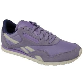 Cipele Reebok Classic Nylon W V68403 purpurna boja