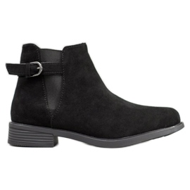 Ideal Shoes Čizme od sunca crna