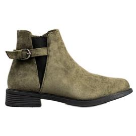 Ideal Shoes Čizme od sunca zelena