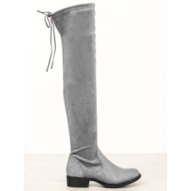Seastar Ležerne cipele s visokim bedrima siva