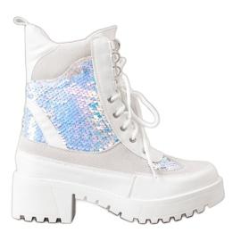 Seastar Čizme na modnoj platformi bijela