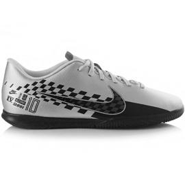 Nogometne cipele Nike Mercurial Vapor 13 Club Neymar M Ic AT7998 006 siva crna, siva / srebrna