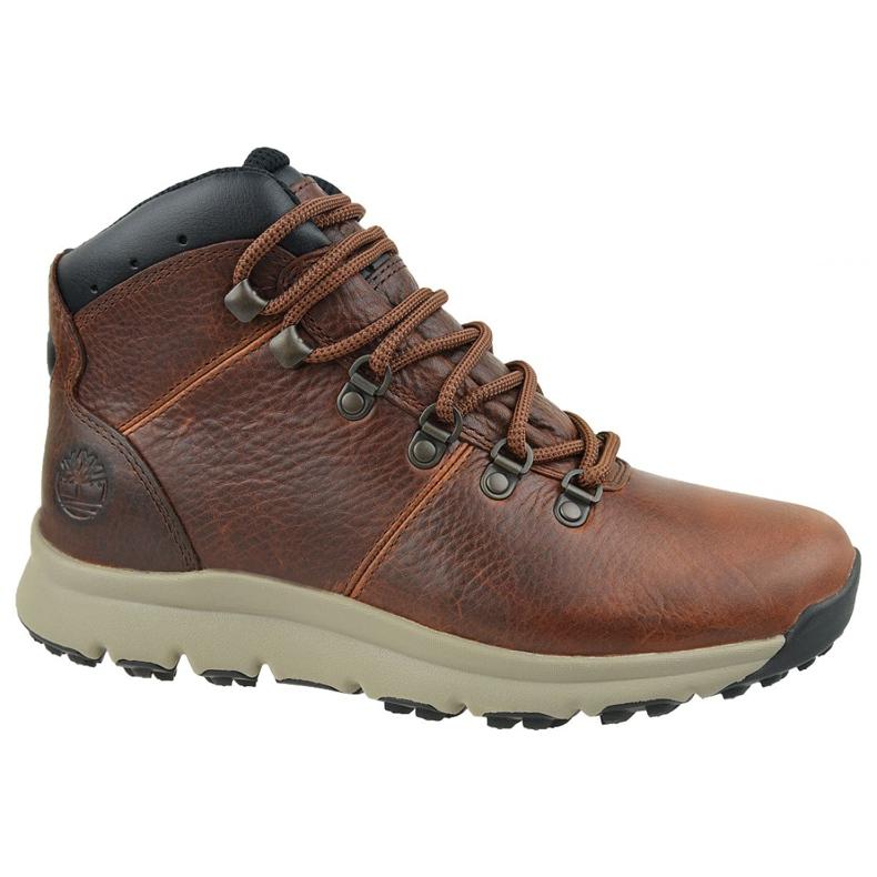 Timberland World Hiker Mid M A213Q cipele smeđ
