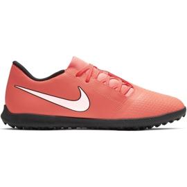 Nike Phantom Venom Club Tf M AO0579 810 nogometne cipele bijela, narančasta narančasta