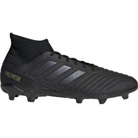 Nogometne cipele Adidas Predator 19.3 Fg M F35594 crna crna