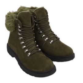 Zelene ženske cipele za traperice Y260-9 Zelene II Tip zelena