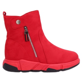 Crvene čizme u sportskom stilu SJ1938 Crvene crvena