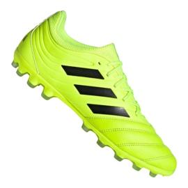 Nogometne cipele Adidas Copa 19,3 Ag Ig M EE8152 žuti žuti