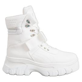 Seastar Tople modne čizme bijela