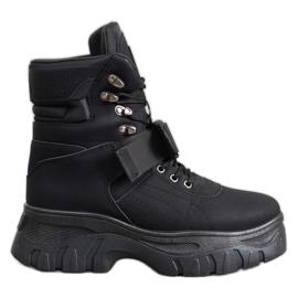 Seastar Tople modne čizme crna