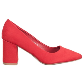 Seastar Elegantne pumpe crvena