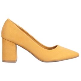 Seastar Elegantne pumpe žuti