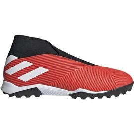 Nogometne cipele Adidas Nemeziz 19,3 Ll Tf M G54686 crno, crveno crvena